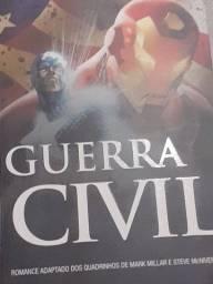 Um livro capitão América guerra civil
