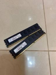 Duas Memórias RAM 4GB cada ddr3