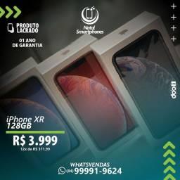 IPHONE XR - LACRADO GARANTIA ( 365 DIAS MUNDIAL DA APPLE ) CORES: RED, BLACK OU WHITE