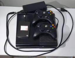 Xbox 360 completo com HD com jogos(usado)
