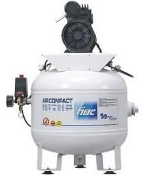 Título do anúncio: Compressor Odontológico Zero Óleo 40 Lt 6 Pés Novo c/ avaria