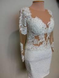 Venda vestido noiva curto