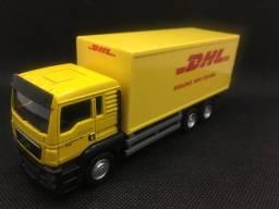 Miniatura Caminhão Dhl Carrier Post