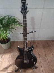 Guitarra Ibanez Gax 30 bkn - Troco por pedaleira também
