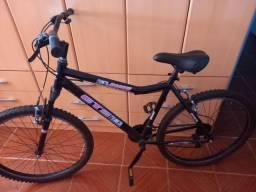 Bicicleta aro26 e capacete