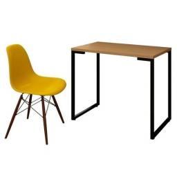 Título do anúncio: Mesa escrivaninha com cadeiras Eiffel