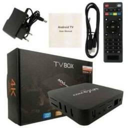 Título do anúncio: TV BOX + CONTEÚDO