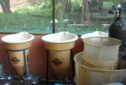 Incubadouras de piscicultura