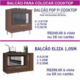 Balcao para fogao cooktop/4 e 5 bocas