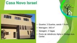 Título do anúncio: casa de 3 quartos no novo israel