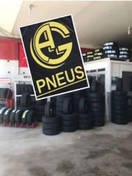 Título do anúncio: Pneu pneus ofertona com AG Pneus vem correndo