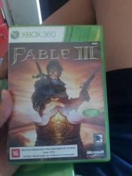 FABLE 3 SEMI NOVO AINDA COM CODIGO DE XBOX LIVE