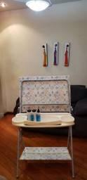 Suporte para banheira e trocador de fraldas Galzerano