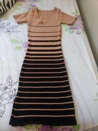 Vestido MIDI de tricô