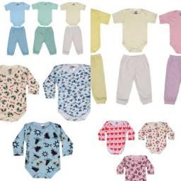 Roupas de bebê kit com 32 peças inverno menino/menina (Leia a descrição)
