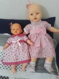 Bonecas Bebezinho e Bebezão.