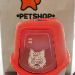Banheiro sanitário gatos