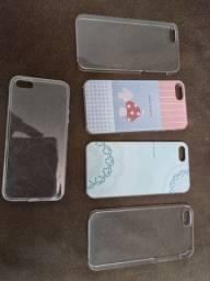 Título do anúncio: Kit capas iPhone 5s