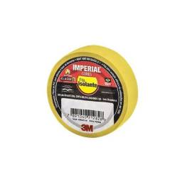 Fita Isolante Imperial Amarela 18mmx10m - 3M