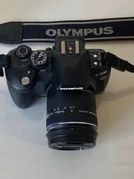 Camera Olympus E520+1Lentes + 1 Converter 2vz e mochila