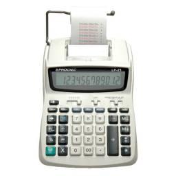 Calculadora de mesa c/bobina 12 dígitos