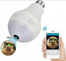 Lampada Câmera Ip Sensor de Movimento Visão Noturna Ultra Hd