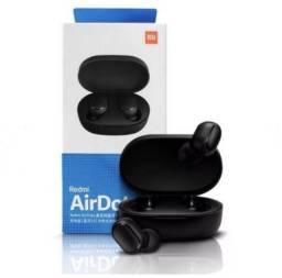 Fone De Ouvido Xiaomi Redmi Airdots S Verdadeiro Sem Fio Wireless 5.0 Estéreo Bass
