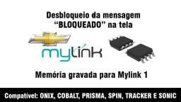 Memória Gravada P Desbloqueio Vin Do Mylink 1 Leia Descrição