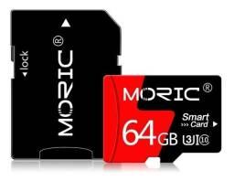 Cartão De Memória 64gb Moric Classe 10 Sdhc Micro Sd (Pronto entrega)