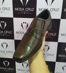 Sapato em couro Legítimo - marrom