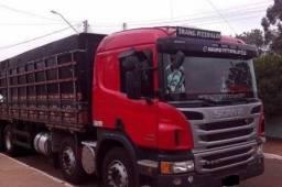 Scania P310, 2015 graneleiro BiTruck, com serviço