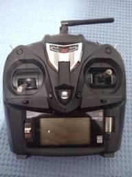 Radio JR XG6 com bateria e receptor