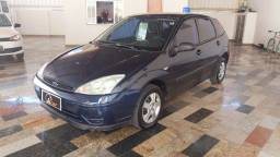 Ford Focus Hatch 1.6 Azul Completo