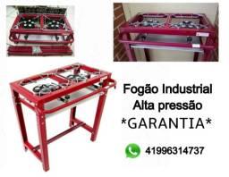 Fogão Industrial 2 Bocas Alta Pressão Junior