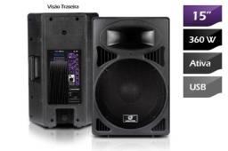 Caixa de som amplificada ativa