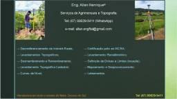 Eng. Allan Henrique - Agrimensura, Topografia e Meio Ambiente