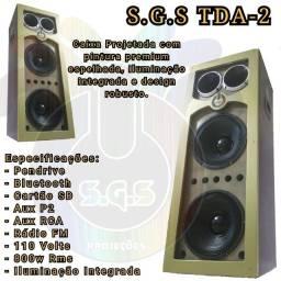 Caixa de som S.G.S TDA-2