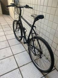 Bike com marcha aro 24 - quadro de alumínio