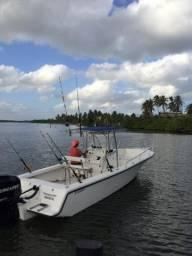 Lancha pesca fishing 25 pés - 2000