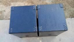 Par de caixas de 12