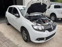 Sucata Renault Sandero 2017/18 82cv 1.0 Flex - 2018