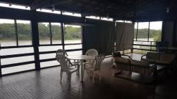 Barão de Melgaço - Casa na margem do Rio - Mobiliada