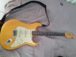 Guitarra menphis com afinador