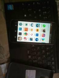 Moto g4 e tablet cce 2 em 1