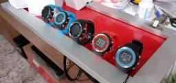 Relógio com GPS integrado