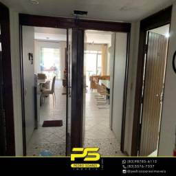 Alugo Apartamento com 3 dormitórios para alugar, 110 m² por R$ 14.000/mês - Camboinha - Ca