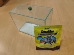 Vendo aquário 3L usado