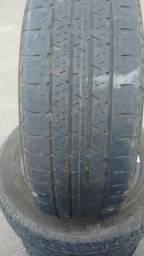 4 pneus meia vida 70.00 cada