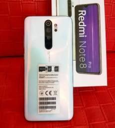 Xiaomi Redmi Note 8 Pro 64/6gb Global Garantia De 6 Meses Na Cor Azul/Branco