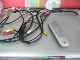 Gravador e leitor de DVD Philips usado